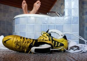 A MediPed fertőtleníti a cipőt – Dr. Stehlich főorvos mesél